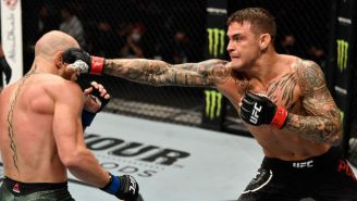 Dustin Poirier TKO'd Conor McGregor In The Main Event Of UFC 257