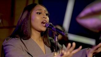 Jazmine Sullivan Displays Her Powerhouse Vocals In A Soothing NPR Tiny Desk Concert