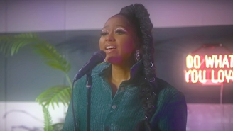 Jazmine Sullivan Gave A Cathartic Performance Of Her Lovelorn Anthem 'Girl Like Me' On 'Fallon'