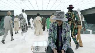 Virgil Abloh's Latest Louis Vuitton Collection Comes With An Explosive, Yasiin Bey Co-Starring Short Film