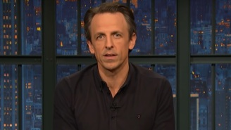Seth Meyers Met The Moment On Wednesday Night