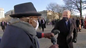 Al Roker Scored A Fist Bump From Joe Biden During The Inauguration Parade, And America Is Feeling Giddy