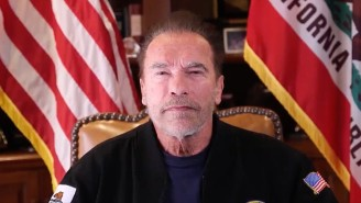 Arnold Schwarzenegger Broke Out His Conan Sword To Denounce Trump And His MAGA Coup Attempt In An Emotional Video