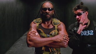 Bad Bunny Appropriately Enlists Booker T For His Combative 'Booker T' Video