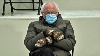 Bernie Sanders And His Amazing Mittens At The Inauguration Are A Whole Damn Mood