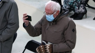 Today Was The Day That The Internet Celebrated Bernie Sanders' Inauguration As America's New Meme Lord