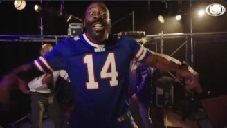 WWE Legend Booker T Threw Someone Through A Table For A Bills Hype Video