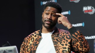 Nate Burleson Had To Explain How NFL Players Use The Bathroom In A Game On The Nickelodeon Broadcast