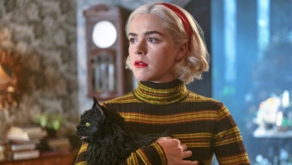 'The Chilling Adventures Of Sabrina' Finally Gave Salem The Cat His Due