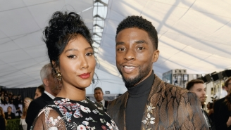 Chadwick Boseman's Wife Gave An Emotional Speech About Her Late Husband: 'Keep Shining Your Light On Us'
