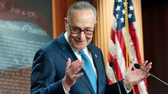 'Donald John Trump Incited The Erection:' Chuck Schumer's Unfortunate (But Funny) Verbal Flub On The Floor Of The Senate Has Everyone LOLing