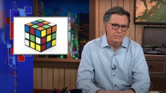 Stephen Colbert Hopes His Rubik's Cube Drama Will Be The Next 'Queen's Gambit'