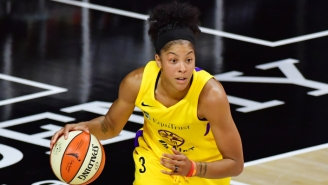 Candace Parker Will Reportedly Leave L.A. To Sign With The Chicago Sky