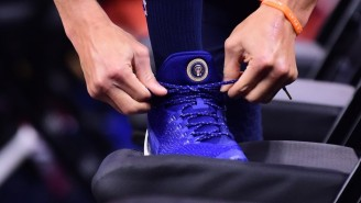 Stephen Curry Celebrated Biden's Inauguration With A Pair Of The POTUS Shoes He Gave Obama