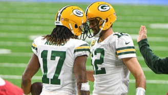 Davante Adams Wants To Win Aaron Rodgers Another Super Bowl To Prove He's The GOAT