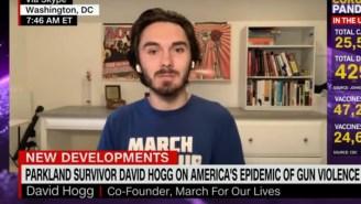 Parkland Survivor David Hogg Demands Republicans Do Something About Wacky QAnon Rep. Marjorie Taylor Greene Harassing Mass-Shooting Survivors