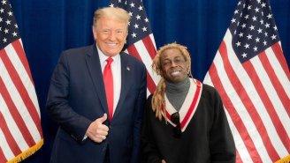 Lil Wayne Denies Trump Pardoned Him In Exchange For His Endorsement