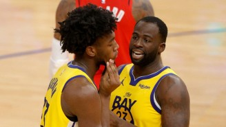 Draymond Green Got Ejected For Yelling At Teammate James Wiseman