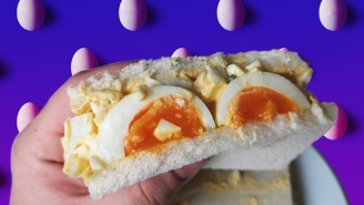 We Recreated Instagram's Favorite Egg Salad Sandwich To See If It's Any Good