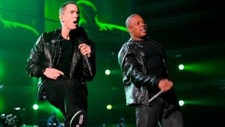Eminem Reveals He Swapped Songs With Dr. Dre In Order To Get Their 'Guns Blazing' Collab