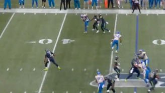 Rams Corner Darious Williams Pulled Off A Crazy Pick 6 By Blowing Up A Screen Pass