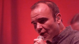 Future Islands Bring Their Live Charisma To 'Late Night' With 'Plastic Beach'