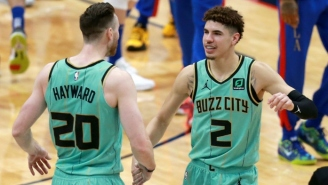 Gordon Hayward Compared LaMelo Ball To Luka Doncic And Russell Westbrook: 'He's Gonna Be Really Good'