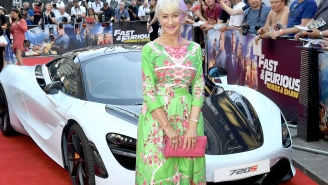 Hell Yeah, Helen Mirren Will Finally Get To Drive In 'F9'