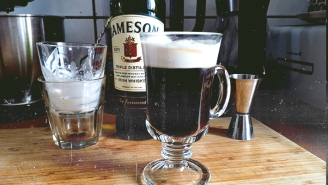 It's Time You Learned To Make *Real* Irish Coffee — Here's Our Recipe