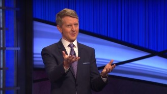 'Jeopardy!' Had A Rare Tiebreaker Question And No One Was More Excited Than Ken Jennings