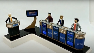 This LEGO 'Jeopardy!' Set Is, Quite Literally, A Moving Tribute To Alex Trebek