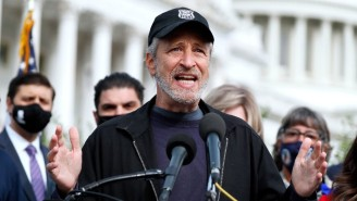 Jon Stewart Has Apparently Joined Twitter, In 2021, And He's Furious About GameStop Stocks
