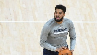 Karl-Anthony Towns Announced He Tested Positive For COVID-19