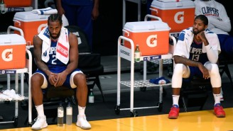 Kawhi Leonard And Paul George Are In The NBA's Health And Safety Protocols