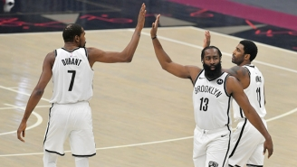 Kevin Durant Said The Nets' Big 3 Debut With James Harden And Kyrie Irving 'Felt Perfect' Despite Loss