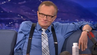 Conan O'Brien Has Shared A Tribute To Larry King's Underrated Comedy Skills