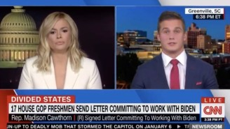 GOP Congressman Madison Cawthorn Got Crushed By Pamela Brown On CNN When He Fumbled Through Baseless Voter Fraud Claims