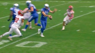 Kentucky Punter's Narrowly Avoided Disaster With A Pump Fake On A Punt In The Gator Bowl