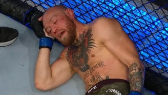 UFC Fans Had A Field Day With The Photo Of Conor McGregor Knocked Out Against The Cage