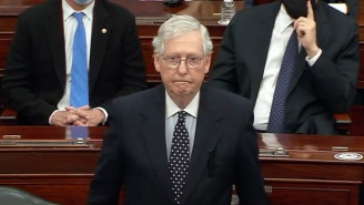 Mitch McConnell Finally Publicly Stood Up To Trump And Condemned His Coup Attempt In An Emotional Senate Speech, And People Have Lots Of Thoughts About It