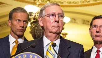 Trump Reportedly Mocked Mitch McConnell For Having Multiple Chins In His Recent Statement, But An Advisor Edited The Insult Out