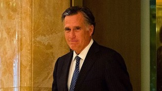 Mitt Romney Appeared to Send Josh Hawley Death Stares During Congress' Delayed Joint Session, And People Loved It