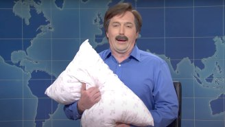 'SNL' Shows Where The MyPillow Guy Gets His Craziest Conspiracy Theories