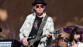 Neil Young Says He Feels 'Empathy' For The Capitol Mob Who Have Been So 'Manipulated'