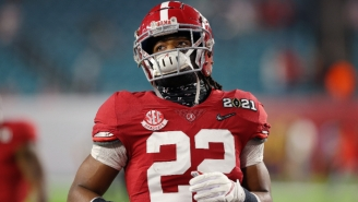 Najee Harris Had A Hilarious Response To A Question About Moving The Ball 'Effortlessly' On Ohio State
