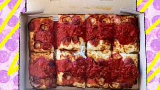 A Review Of Pizza Hut's New Detroit Style Pizza