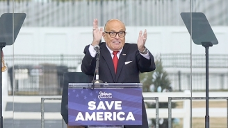 Rudy Giuliani Bizarrely Claims His 'Trial By Combat' MAGA Coup Battle Cry Was Actually Just A Totally Innocent 'Game Of Thrones' Reference