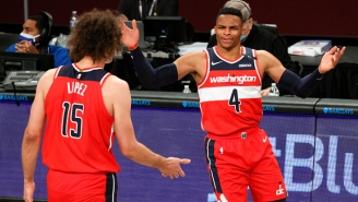 Russell Westbrook And Robin Lopez Both Got Ejected In A Loss Against The Hawks