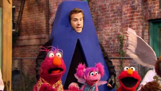 Ryan Reynolds Couldn't Resist Making A Raunchy Joke About Playing The Letter 'A' On 'Sesame Street'