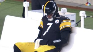 Sad Ben Roethlisberger Became NFL Fans' New Favorite Meme After The Steelers Lost To The Browns